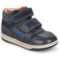 Scarpe Bambino Sneakers alte Geox B NEW FLICK B. A MARINE / Blu