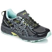 Scarpe Donna Running / Trail Asics GEL-VENTURE 6 Nero / Verde