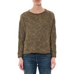 Abbigliamento Donna Maglioni De Fil En Aiguille Pull  Wiya Kaki  W7903 Verde