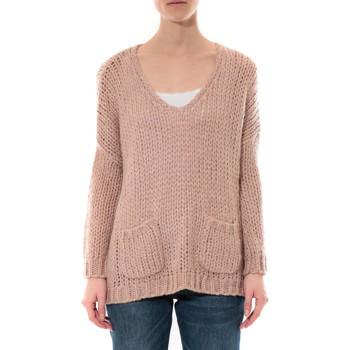 Abbigliamento Donna Maglioni De Fil En Aiguille Pull  Senes Rose Ym135 Rosa