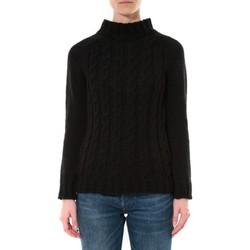 Abbigliamento Donna Maglioni De Fil En Aiguille Pull Farfalla Noir Nero