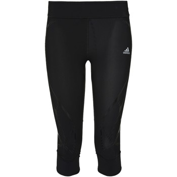 Abbigliamento Donna Leggings adidas Performance Tight 3/4 adizero Sprintweb Nero