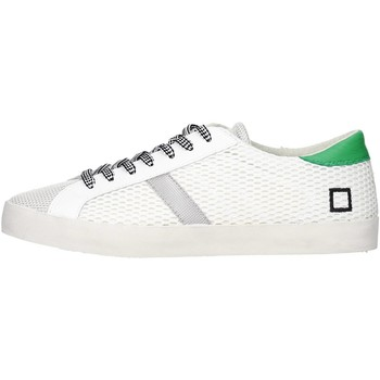Sneakers basse Date D.a.t.e. HILL LOW-46 Sneakers Uomo Tessuto  Bianco