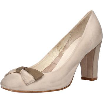 Scarpe Donna Décolleté Carmens Padova scarpe donna  decolte beige pelle scamosciata AF52 beige