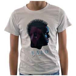Abbigliamento Bambino T-shirt maniche corte Puma Balotelli JR T-shirt bianco