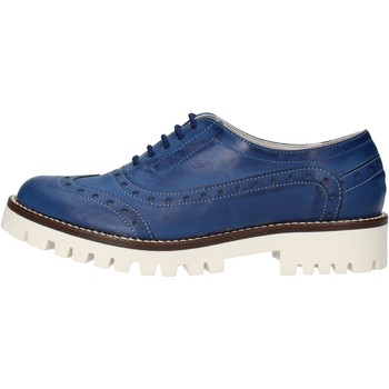 Scarpe Donna Classiche basse Olga Rubini scarpe donna  classiche blu pelle AF117 blu