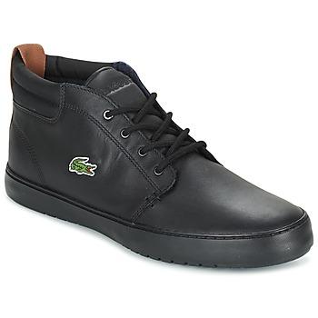 Scarpe Uomo Sneakers alte Lacoste AMPTHILL TERRA Nero