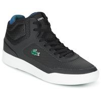 Scarpe Uomo Sneakers alte Lacoste EXPLORATEUR SPT MID Nero / Verde