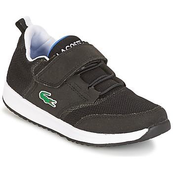 Scarpe Bambino Sneakers basse Lacoste L.IGHT Nero / Grigio