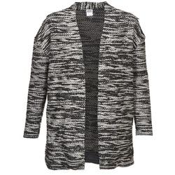Abbigliamento Donna Gilet / Cardigan Vero Moda NELLA Nero / Grigio / Chiné