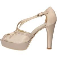 Scarpe Donna Sandali Sergio Cimadamore scarpe donna  sandali beige raso vernice AF482 beige