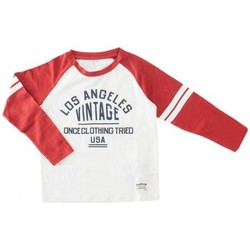 Abbigliamento Bambino T-shirts a maniche lunghe Name It Kids nitdomingo long sleeve t-shirt red