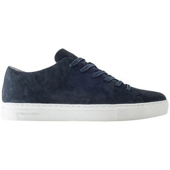 Scarpe Uomo Sneakers Crime London low sneakers suede blue