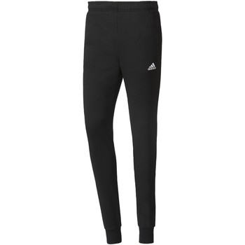 Abbigliamento Uomo Pantaloni da tuta Adidas Athletics Pantaloni Essentials French Terry Nero / Bianca