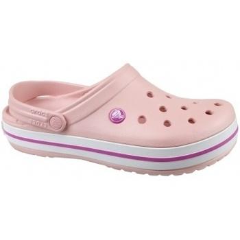 Scarpe Donna Ciabatte Crocs Crocband rosa
