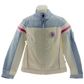 Abbigliamento Unisex bambino Giacche sportive Geox Giubbino Giubbini panna