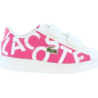 Scarpe Unisex bambino Sneakers Lacoste 33SPI1000 CARNABY Rosa