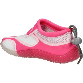 Scarpe Bambina Sneakers Everlast sneakers bianco tessuto rosa gomma AF851 multicolore