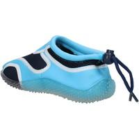 Scarpe Bambino Sneakers Everlast sneakers blu tessuto celeste gomma AF852 multicolore