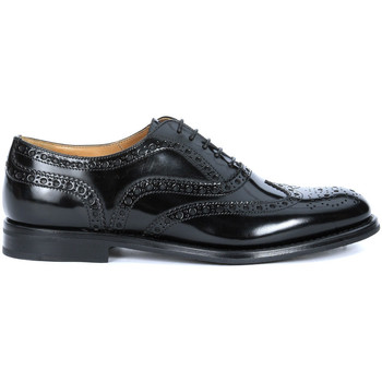 Scarpe Donna Classiche basse Church's Stringata  Burwood in pelle lucida nera Nero