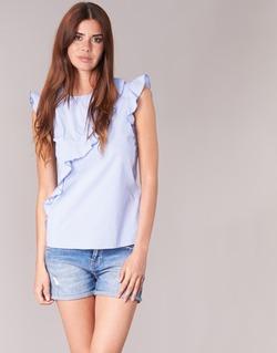 Abbigliamento Donna Top / Blusa Morgan MARFIZ Blu / Bianco