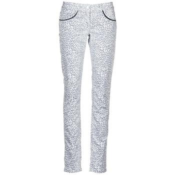 Abbigliamento Donna Pantaloni 5 tasche Kookaï FEMIE Beige / Nero
