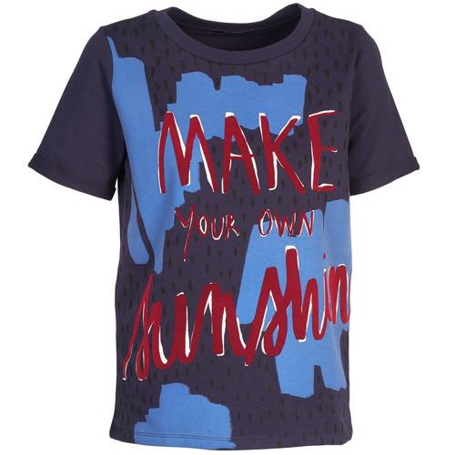 shirt Corte Edith Marine T Maniche Kookaï QxhdCBtrs