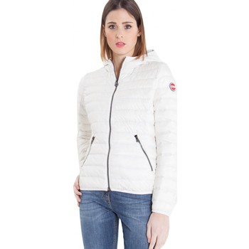 Abbigliamento Donna Piumini Colmar Hooded downjacket 100 grams natural white Multicolor