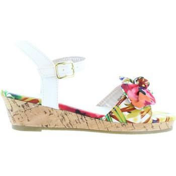 Scarpe Bambina Sandali Flower Girl 340093-B4600 Blanco