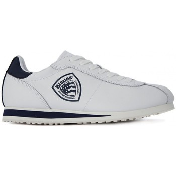 Scarpe Donna Sneakers basse Blauer BOWLING LEA NAVY Bianco