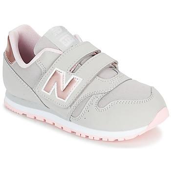 Scarpe Bambina Sneakers basse New Balance KV373 Grigio / Rosa