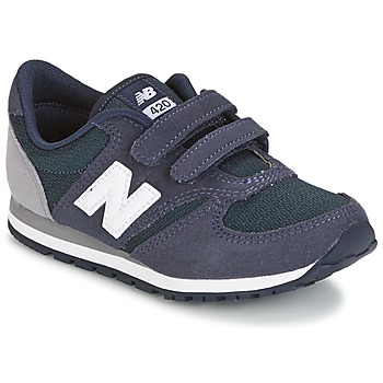 Scarpe Bambino Sneakers basse New Balance KE421 MARINE / Grigio