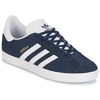 Scarpe Bambino Sneakers basse adidas Originals GAZELLE J Marine