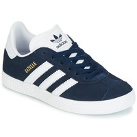 Scarpe Unisex bambino Sneakers basse adidas Originals Gazelle C Marine