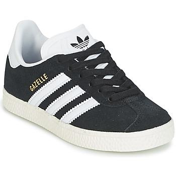 Scarpe Unisex bambino Sneakers basse adidas Originals GAZELLE C Nero