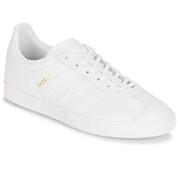 Scarpe Bambino Sneakers basse adidas Originals GAZELLE J Bianco