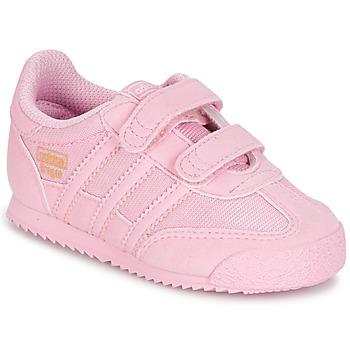 Scarpe Bambina Sneakers basse adidas Originals DRAGON OG CF C Rosa