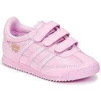 Scarpe Bambina Sneakers basse adidas Originals DRAGON OG CF I Rosa