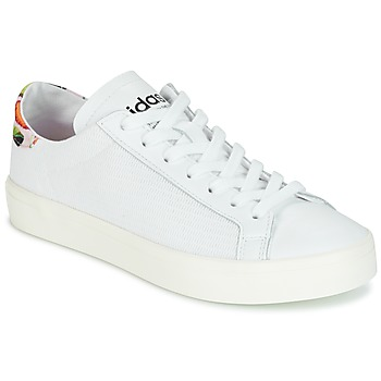Scarpe Donna Sneakers basse adidas Originals Court Vantage Bianco / Fleurs