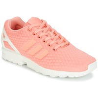 Scarpe Donna Sneakers basse adidas Originals ZX FLUX W Rosa / Bianco