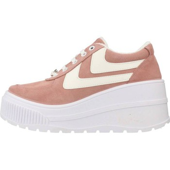 Scarpe Donna Sneakers basse Yellow FAMOUS Rosa
