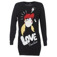 Abbigliamento Donna Abiti corti Love Moschino WS45S01X0608 Nero