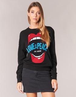 Abbigliamento Donna Maglioni Love Moschino WS91G00X0683 Nero