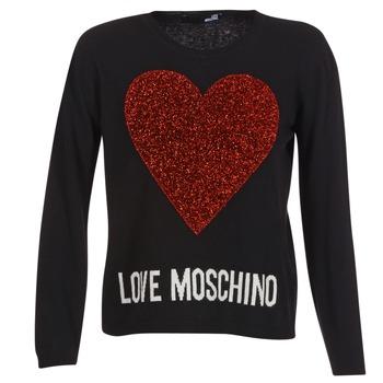 Abbigliamento Donna Maglioni Love Moschino WS89G01X0683 Nero