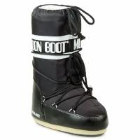 Scarpe Stivali da neve Moon Boot MOON BOOT NYLON Nero