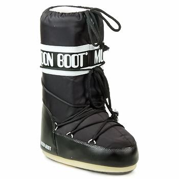 Scarpe Donna Stivali da neve Moon Boot MOON BOOT NYLON Nero