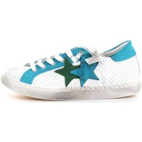Scarpe Donna Sneakers basse 2 Stars 2SD1404 Sneakers Donna Bianco/Turchese Bianco/Turchese