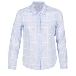 Abbigliamento Donna Camicie Casual Attitude GAMOU Blu / Bianco