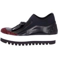 Scarpe Donna Sneakers alte Emporio Di Parma 754 Bordeaux