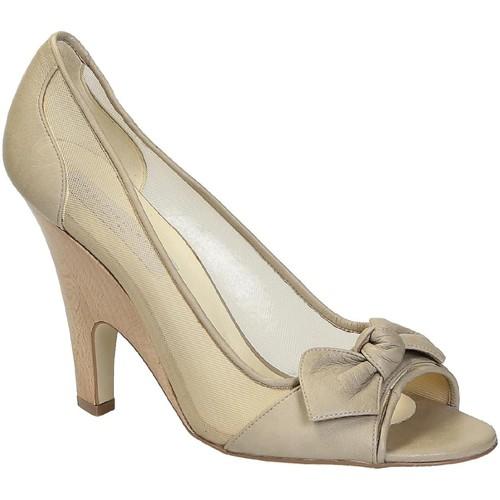 Stella Mc Cartney Decoltè spuntate in Finta pelle beige - Scarpe Décolleté Donna 125,00